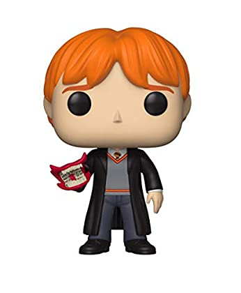 Funko 35517 Pop Vinyl: Harry Potter S5: Ron w/H...