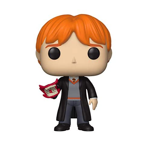 Funko Pop Harry Potter 71 Ron Weasley Vinyl Figure, Multicolor, Talla única (35517) 2