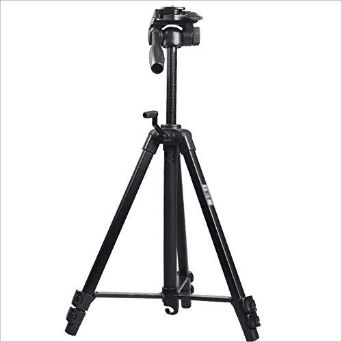 LMM Stativ mit Live-Broadcast-Funktion für Reisen im Freien, Unterstützung von 360 ° -Panoramaaufnahmen, mit zusammenklappbarem Stauraum und Teleskophaken für die Kamera