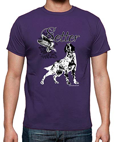 tostadora - Mnner - T-Shirt Tee Shirt Mann Militr Violett XL