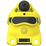 Drahtlose Überwachungskamera,Smart Home Sicherheitssystem (Auto-Charge), Überwachungskamera Roboter, automatischer Patrol Überwachungsroboter, HD Nacht für komplette Haussicherheit WiFi Control