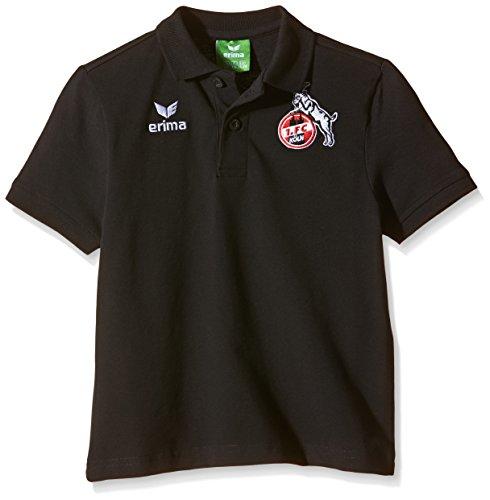 erima Kinder FC Köln Poloshirt Schwarz