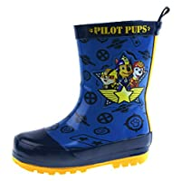Paw Patrol Boys Rubber Wellington Boots