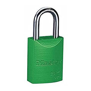 American Lock A1107GRN1KEY Padlock Keyed, Green