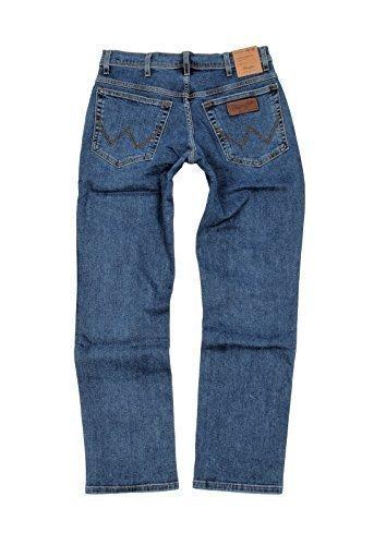 Wrangler Herren Texas Jeans, MITTEL-BLAU, 38W / 32L