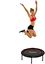 Sunny Health & Fitness Unisex Adult No. 078 Trampoline - Black, One