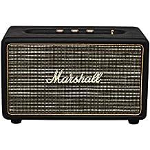 Marshall Acton Bluetooth Altavoz con cable, negro