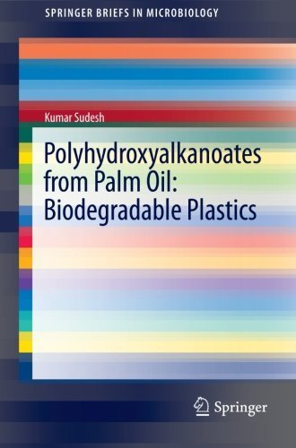 Polyhydroxyalkanoates from Palm Oil: Biodegradable Plastics (SpringerBriefs in Microbiology) by Kumar Sudesh (2012-10-11)