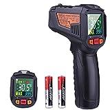 Infrarot Thermometer -50 bis 550°C Tacklife IT-T09 Digital Berührungsloses Dual Laser Thermometer Pyrometer Temperaturmessgerät mit NCV Funktion und Einstellbarem Emissionsgrad
