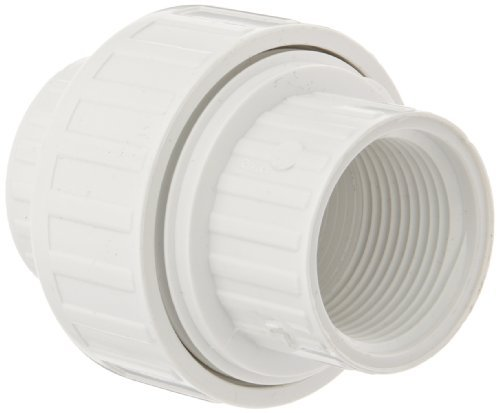 Spears 498 Series PVC Pipe Fitting, Union with EPDM O-Ring, Schedule 40, 3/4 NPT Female by Spears Manufacturing -