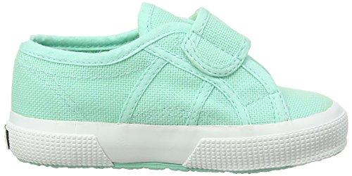 Superga 2750 Bvel, Low-Top Sneaker Unisex - bambino Verde (Grün (pastel Green))