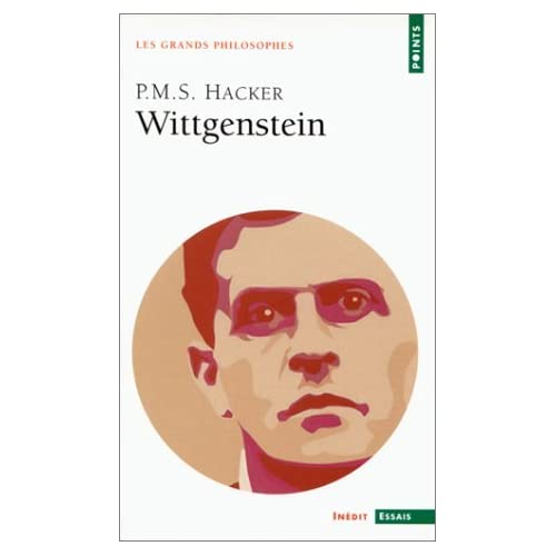Wittgenstein by Peter M.S. Hacker (October 02,2000)