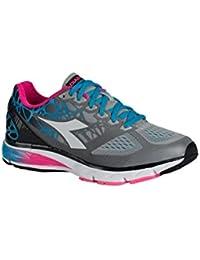 Diadora Scarpa Running Sneaker Jogging Donna Mythos blushield Bright w  Silverio  c8cb42c36ca