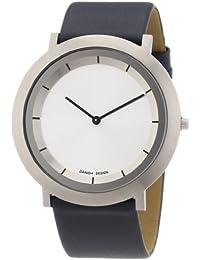 Danish Design Damen-Armbanduhr XL Analog Quarz Leder 3324486