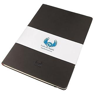 Leda Art Supply - Mittelgroßes Premium-Skizzenbuch - Reißfest & Verlaufsicher - 21 x 14 cm - 160 Seiten