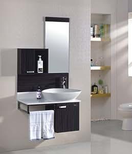 badezimmerm bel set badm bel oslo wenge m 70105 236 spiegel unterschrank waschbecken. Black Bedroom Furniture Sets. Home Design Ideas