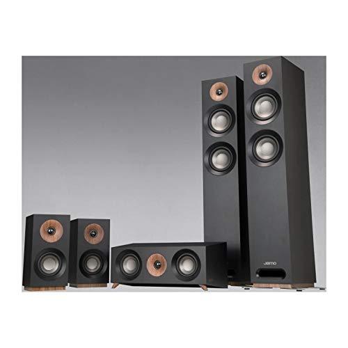 Jamo S 807 HCS 5.0 Schwarz Audio/s-video-kit