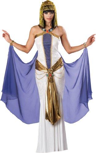 Incharacter in Charakter Kostüme, LLC Jewel of the Nile voller Länge Panne Gewand, weiß/violett Gr. Größe L, Mehrfarbig - Mehrfarbig (Incharacter Kostüme Llc)
