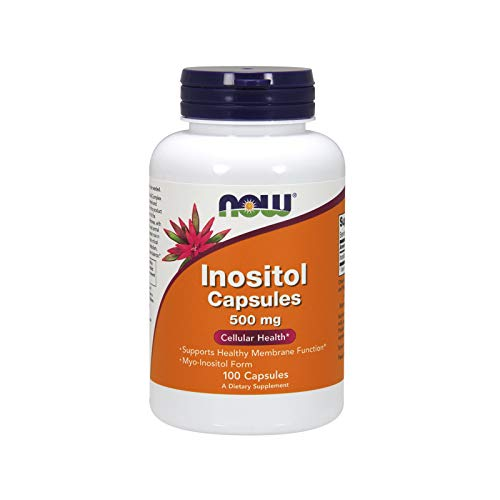 NOW Foods - Inositol capules 500 mg 100 cap by Now Foods