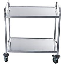Suchergebnis auf Amazon.de für: edelstahl rollwagen | {Küchenwagen edelstahl 30}