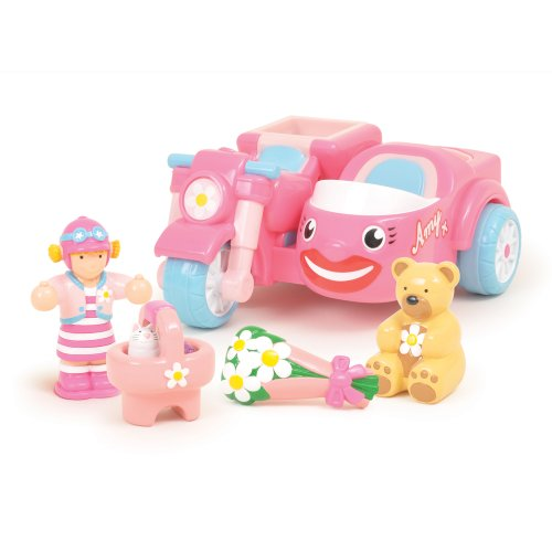 WOW Toys - Whiz-Around Amy, coche de juguete (10304)