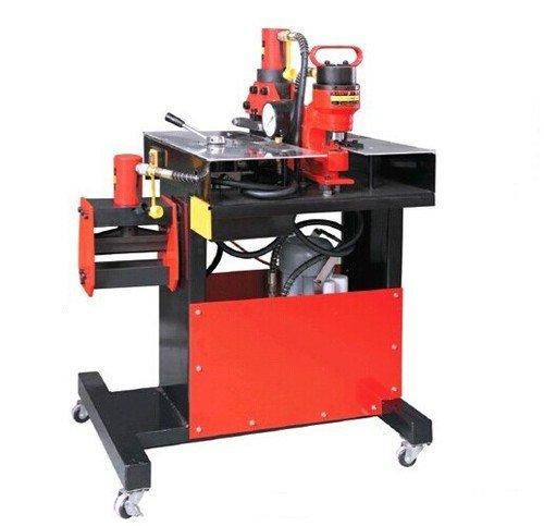 Gowe Peigne Peigne Machine de traitement Processeur en cuivre frappe se pencher Feuille lavable en machine multi bubar pour épaisseur de coupe de 12 mm