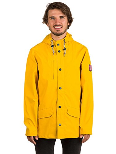 Herren Jacke Derbe Passenger Jacke yellow/grey denim