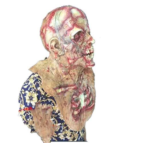 Unbekannt Halloween Horror Maske Haunted Haus Zimmer Escape Bar Kreativ Ansässigen Bösen Vampir Zombie Zombie Kopfbedeckung