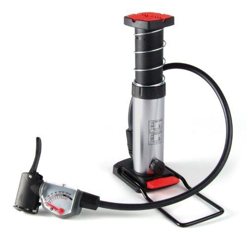 Minifusspumpe analog analoges Qualitätsmanometer bis 12 bar (Alternative Bike Adapter)