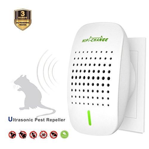 EasySmart Ultraschall Schädlingsbekämpfer elektronischer Plug-in Pest Mause Repeller Control Indoor Vertreiber wie Kakerlaken, Mäuse, Fliegen, Mücken, Ameisen, Spinnen, Flöhe usw.