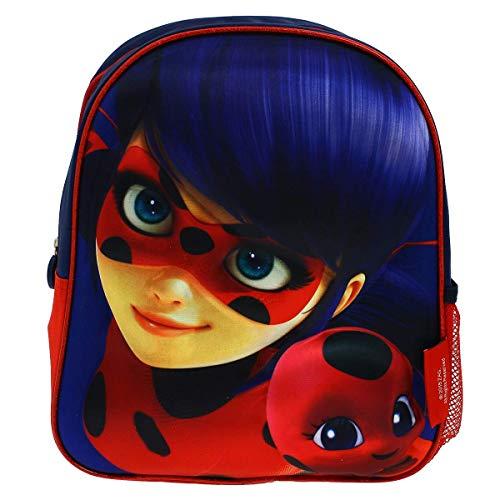 Cerdá 3d Lady Bug Zainetto per bambini, 31 cm, Blu (azul)