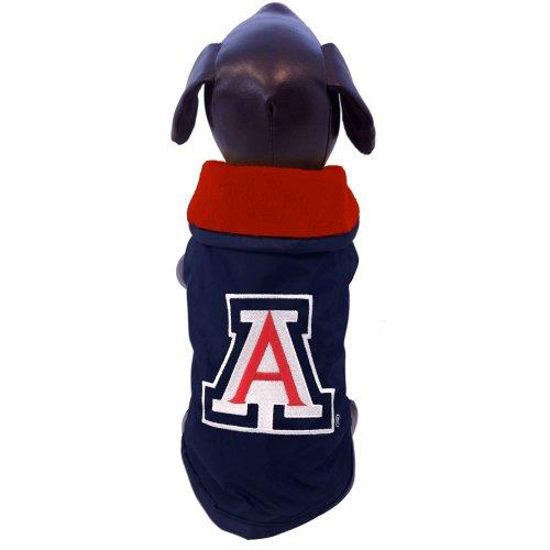 NCAA Arizona Wildcats Allwetterfeste Schutzkleidung für Hunde, Größe XL