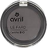 AVRIL - Ombretto Certificato Bio - Grigio Antracite Mat 452 - Idratante - Con estratto di Melograno - Colori Combinabili - Adatto a tutti i tipi di Pelle