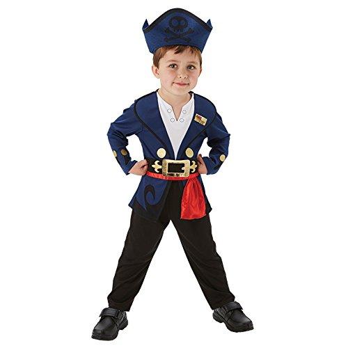 Jake der Pirat Gr. T (2-3 Jahre) Fasching Karneval Kostüm Kinderkostüm - Jake Der Pirat Kostüm