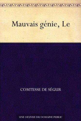 Couverture du livre Mauvais génie, Le