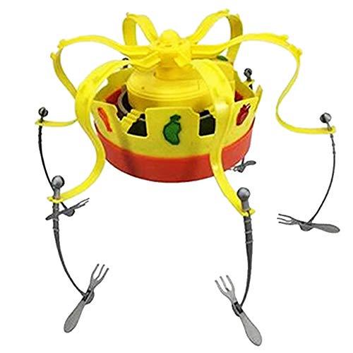 Kunststoff-Chow Crown Spiel Musical Spinning Crown Snacks Essen Party-Familien-Spiel-Spielzeug Für Kinder