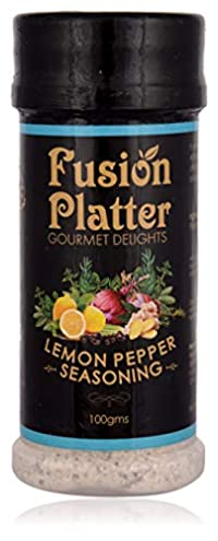 Fusion Platter Lemon Pepper Seasoning, 100 Grams