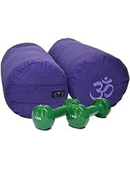 Yoga Studio Traversin & Kit d'haltères de 1,5kg