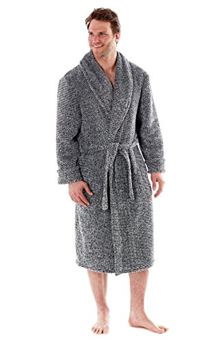 mens-soft-feel-melange-gowns-robes-wraps-in-m-l-xl-2xl-by-h-james