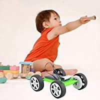 Swiftswan DIY Assemble Toy Set Solar Powered Car Kit Science Educational Kit for Kids Students