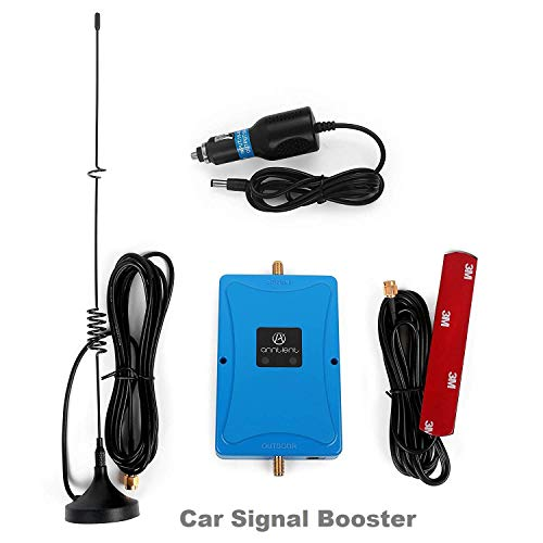 ANNTLENT Fahrzeug Handy Signal Signalverstärker 2G 3G Repeater 900/2100 MHz Band 8, Band 1 Cellular Booster für Auto / Van / LKW / Boot / RV Verwendung