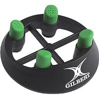 Gilbert Men's Tee de rugby Noir/vert