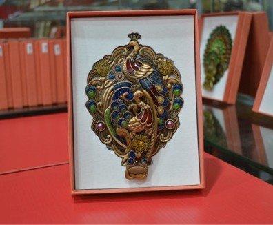 Spiegel Retro Compact Reisen Tasche Schoenheit Vintage Frisierspiegel Makeup Aufwendig Gold