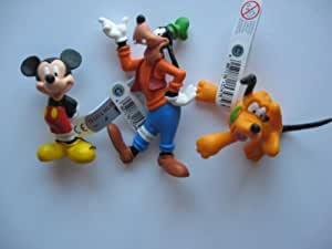 MICKEY MOUSE,GOOFY AND PLUTO BY BULLYLAND