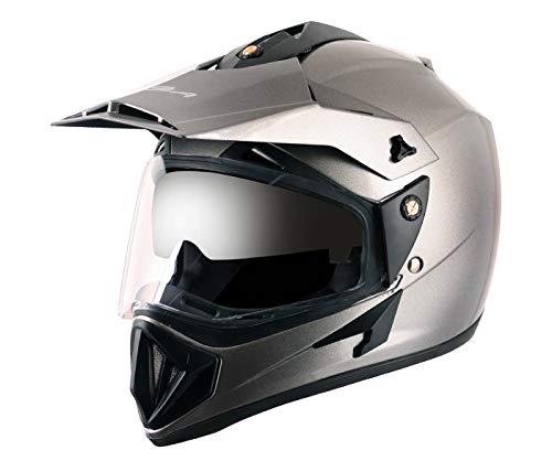 Vega Off Road OR-D/V-A_M Full Face Motocross Helmet (Anthracite, M)
