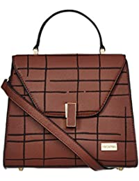 Satya Paul Women's Handbag (Brown)
