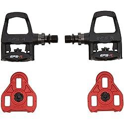 Exustar Keo - Pedales para bicicletas, color negro, talla n.a