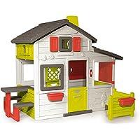 Smoby - 310209 - Jeu de Plein Air - Maison de Jardin - Friends House - Sonnette Electronique Incluse