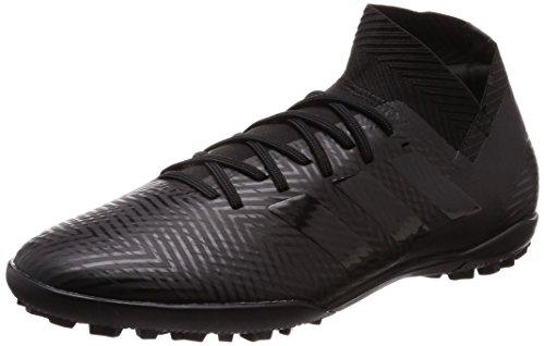 adidas Herren Nemeziz Tango 18.3 TF Fußballschuhe, Schwarz Core Black/FTWR White, 44 EU