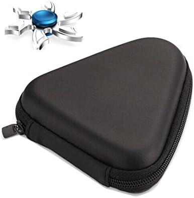Hosaire Multicolor EVA caja de la caja de bolsa para el Spinner a mano a prueba de polvo EDC Fidget Spinner Focus dedo juguete de educación Gyro (sólo caso bolsa) (negro)